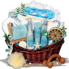 spa basket ideas gift ideas for taurus spa gift basket beliefnet
