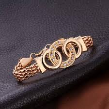 bracelet luxury crystal images Fashion luxury crystal handcuffs necklace earring bracelet ring jpg