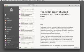 rss feed viewer u0027reeder 2 u0027 now available for mac with support for