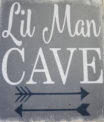 signs and decor cave wood sign nursery decor boys nursery