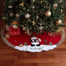 creative design personalized tree skirts large skirt not