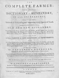 farm writing paper the complete farmer or a general dictionary of husbandry wikipedia