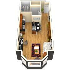 apartments half garage single level studio 1 and 2 bedroom