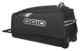 black motocross gear ogio shock gear bag revzilla