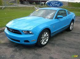 2010 Black Mustang 2010 Grabber Blue Ford Mustang V6 Coupe 15624655 Gtcarlot Com