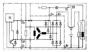 automotive alternators u2013 internal circuit and output voltage