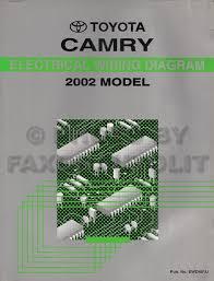 2002 toyota camry wiring diagram 2002 toyota camry wiring diagram manual original