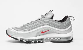 nike air silver nike air max 97 silver bullet is making its grand reentry in april