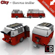 volkswagen lego caravan