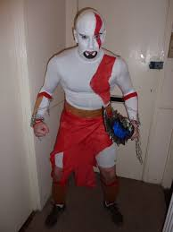 Kratos Halloween Costume Profile Images Florian Le Goupil Nanome
