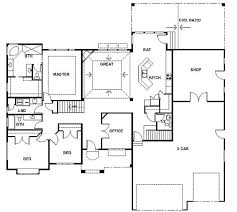 one story house plans with basement best 25 rambler house plans ideas on rambler house