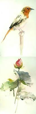豆荚子的微博 新浪微博 随时随地分享身边的新鲜事 bird paintingswatercolor paintingswatercolours watercolor