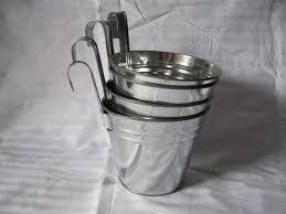 free shipping big size 15 15 18cm garden bucket tin box iron pots