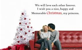 cute merry christmas wishes for boyfriend girlfriend romantic