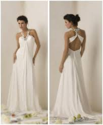 grecian style wedding dresses white grecian inspired wedding dress with halter top and t back