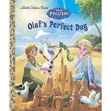 olaf u0027s perfect golden books disney frozen