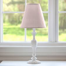 Nursery Table Lamps Baby Nursery Pink Nursery Lamp With White Wooden Table And Pink