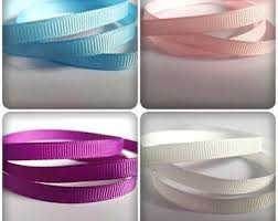 ribbon grosgrain sided ribbon etsy