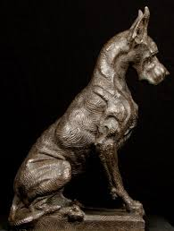 guard dog statue 51 best great dane sculpture images on great danes