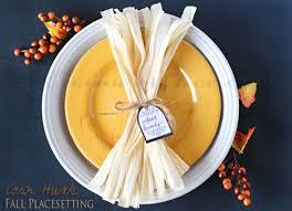 Simple Thanksgiving Table Settings 8 Simple Diy Thanksgiving Table Settings Shelterness