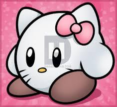 draw kirby kitty darkonator drawinghub