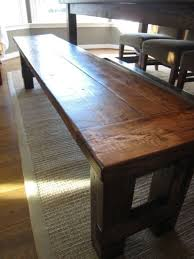 build a bench for dining table diy plans to build the matching farmhouse bench goes with farmhouse