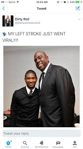 Magic Johnson Meme - usher stds and how i lost 1 million blackpeopletwitter