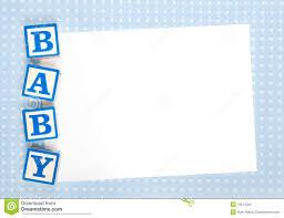 theme blank baby showers invitations