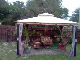 Patio Gazebos And Canopies by Wilson U0026 Fisher 10 X 12 Monterey Gazebo Replacement Canopy Garden