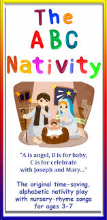 the abc nativity editable nativity play script with nursery