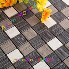 kitchen backsplash materials ceramic mosaic tile black white bathroom wall square tiles kitchen