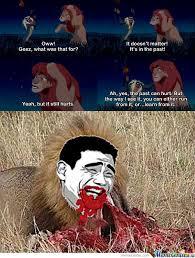 Rafiki Meme - disney lion king lionking passionfruit rafiki fail pleasure memes
