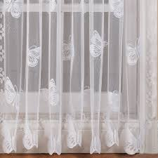 butterfly garden floral window treatment