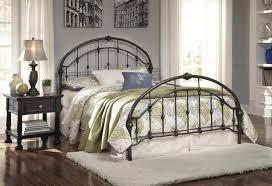 bedroom high bed frame king metal bed black metal bed mattress