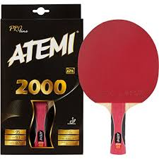 best table tennis paddle for intermediate player atemi pro line 2000 ping pong racket superior control and power