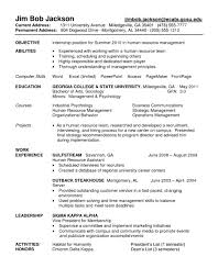 exles of resumes for internships fascinating objectiver resume internship exles of objectives