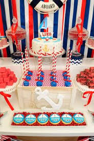 Nautical Party Theme - nautical birthday party via kara u0027s party ideas karaspartyideas com