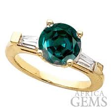 chagne engagement rings classic 3 5 20 mm alexandrite ring set with 100 color