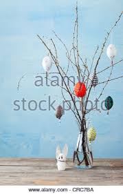 Easter Decorations Branches by Easter Decorations Branches Stock Photo Royalty Free Image