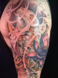 13 best koi fish tattoo sleeve images on pinterest draw black