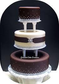 brown cake best 25 brown wedding cakes ideas on chocolate