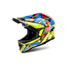 youth xs motocross helmet new kids youth xs 53 54 cm airoh archer cheif helmet motocross