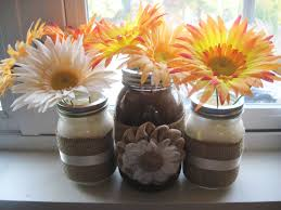 jar vases diy autumn inspired jar vase make something mondays
