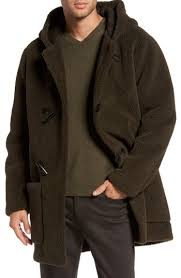 mens plush coat nordstrom