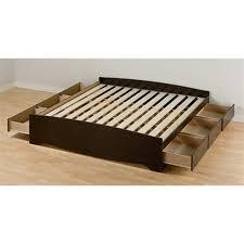bed frames upholstered platform bed king solid platform bed no