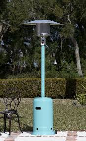 Firesense Table Top Patio Heater by Amazon Com Fire Sense Powder Coated Patio Heater Aqua Blue