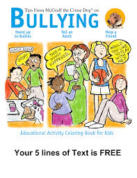 mcgruff the crime dog bullying coloring book mcgruff stuff and