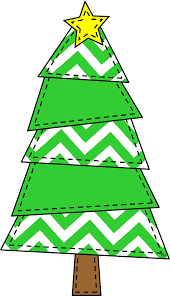chevron christmas tree clipart clipartxtras