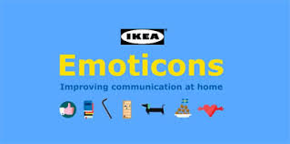 ikea emoji check out the new ikea emoticons app for ios and android