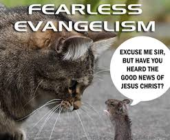 Jesus Cat Meme - do you tell people about salvation in the lord and god jesus
